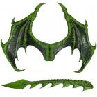 סט דרקון ירוק ענק