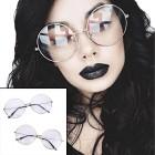 משקפיים עגולים גדולים