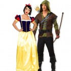 תחפושת זוגית נסיכת התפוח והצייד