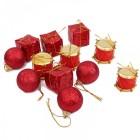 מארז קישוטים לעץ חג המולד