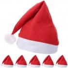 מארז 6 כובעי סנטה קלאוס
