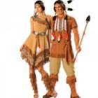 תחפושת זוגית אינדיאנים
