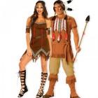 תחפושת זוגית אינדיאנים שבטיים
